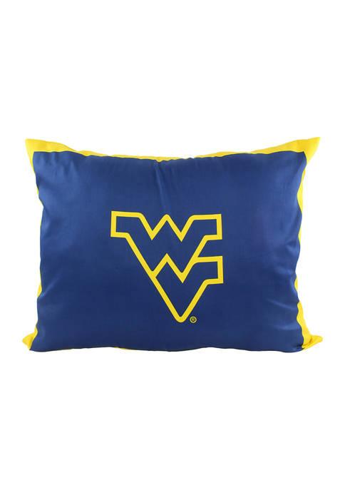 NCAA West Virginia Mountaineers Fully Stuffed Big Logo Pillow