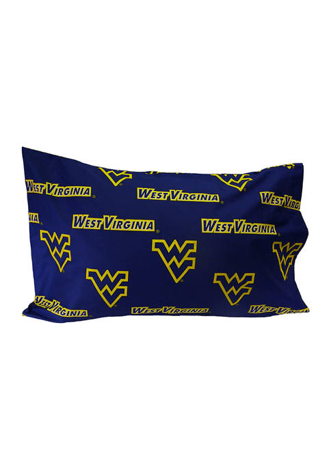College Covers NCAA West Virginia Mountaineers King Pillowcase