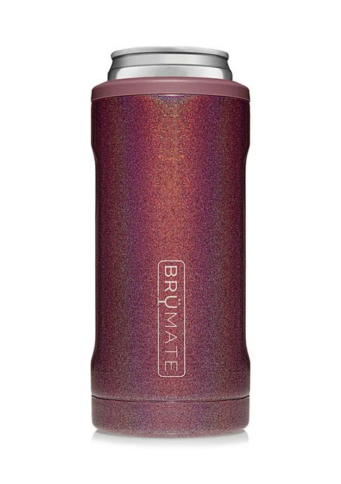 Hopsulator Slim Can Cooler - Glitter Merlot