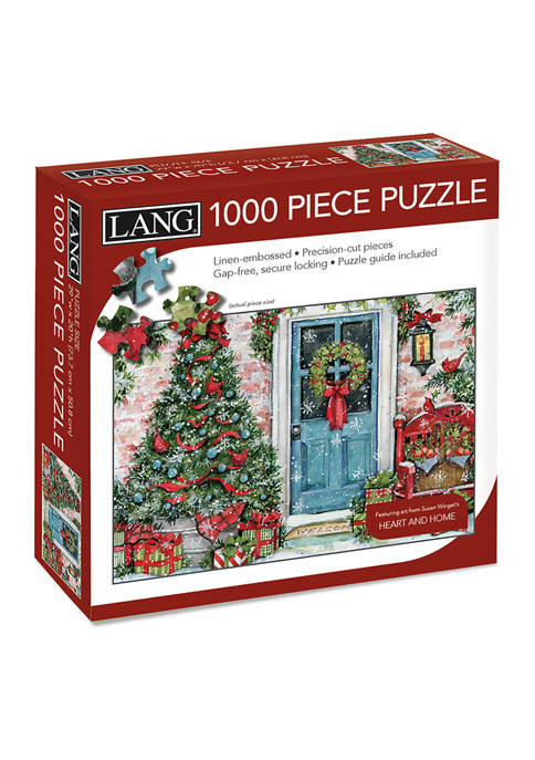 Lang Greenery Greetings 1000 Piece Puzzle