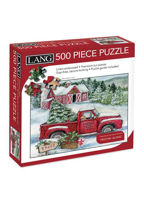 Santas Truck 500 Piece Puzzle