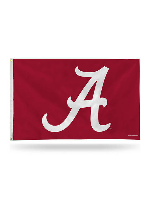 NCAA Alabama Crimson Tide Script Banner Flag