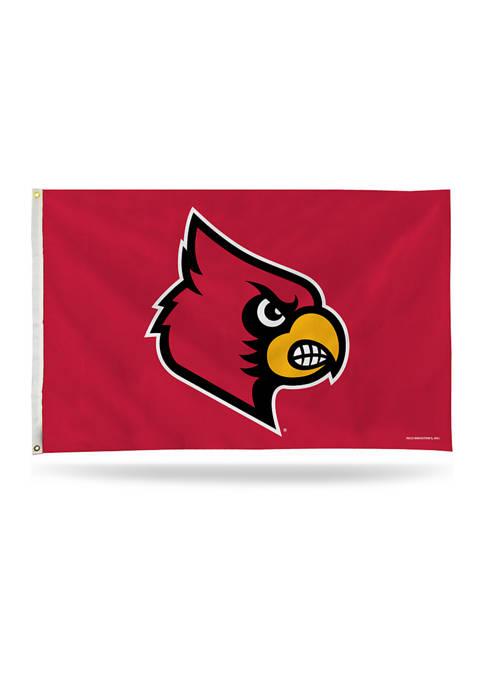 NCAA Louisville Cardinals Banner Flag