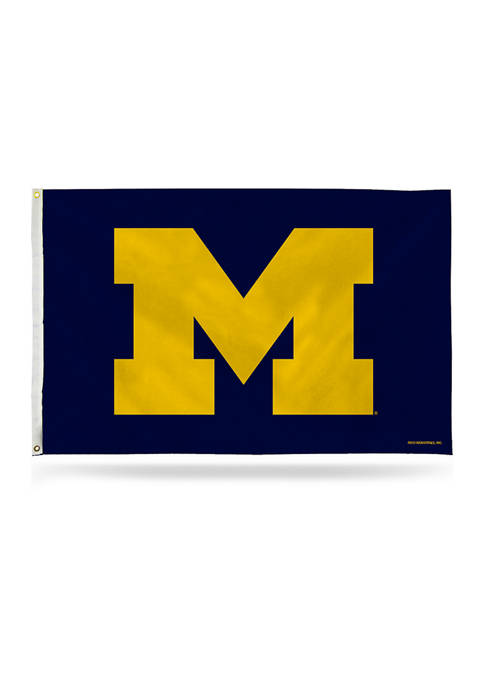 NCAA Michigan Wolverines Banner Flag