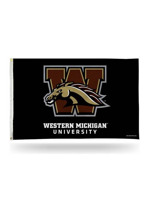 NCAA Western Michigan Broncos Banner Flag