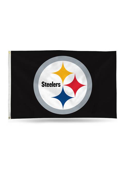 NFL Pittsburgh Steelers Banner Flag