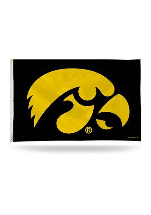 RICO NCAA Iowa Hawkeyes Banner Flag