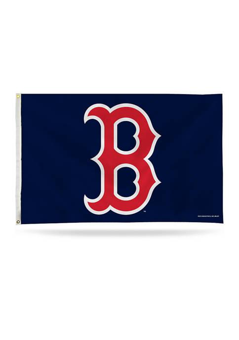 RICO MLB Boston Red Sox Logo Banner Flag