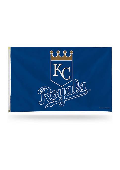 RICO MLB Kansas City Royals Shield Logo Banner