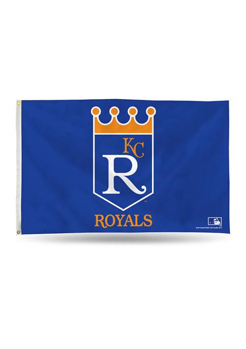 RICO MLB Kansas City Royals Retro Banner Flag