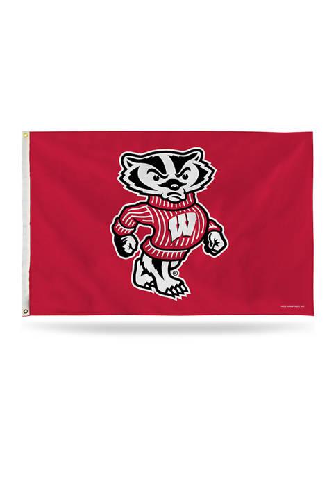 NCAA Wisconsin Badgers Banner Flag