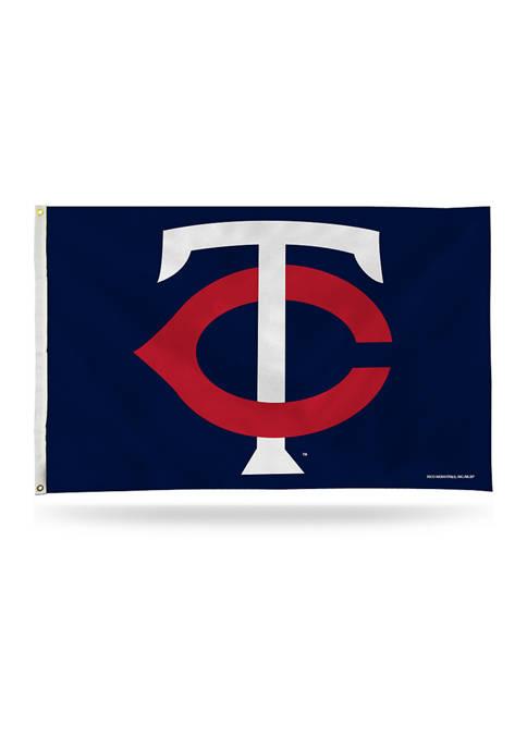 RICO MLB Minnesota Twins Banner Flag