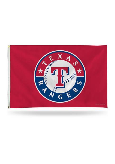 RICO MLB Texas Rangers Banner Flag