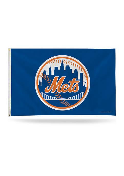 RICO MLB New York Mets Banner Flag