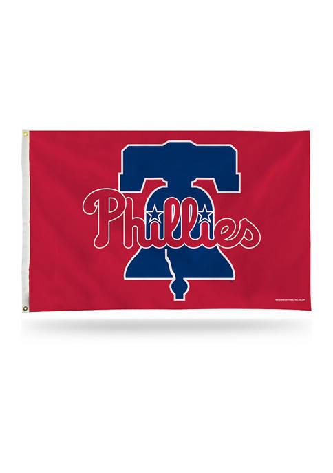 RICO MLB Philadelphia Phillies Banner Flag