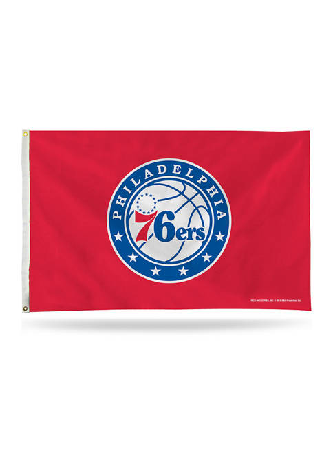 RICO NBA Philadelphia 76ers Banner Flag