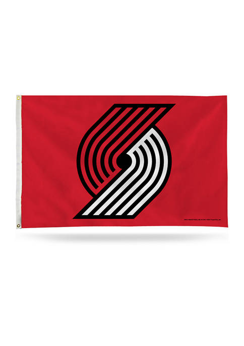 RICO NBA Portland Trail Blazers Banner Flag