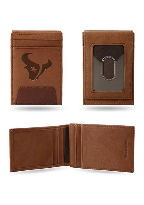 NCAA Houston Texans Premium Leather Wallet