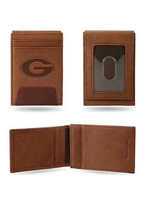 NCAA Georgia Bulldogs Premium Leather Wallet