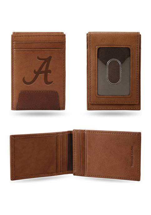 RICO NCAA Alabama Crimson Tide Premium Leather Wallet