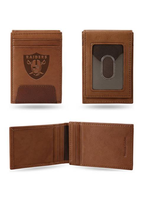 NFL Oakland Raiders Premium Leather Wallet