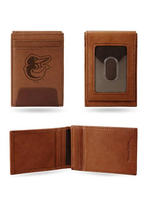 MLB Baltimore Orioles Premium Leather Wallet