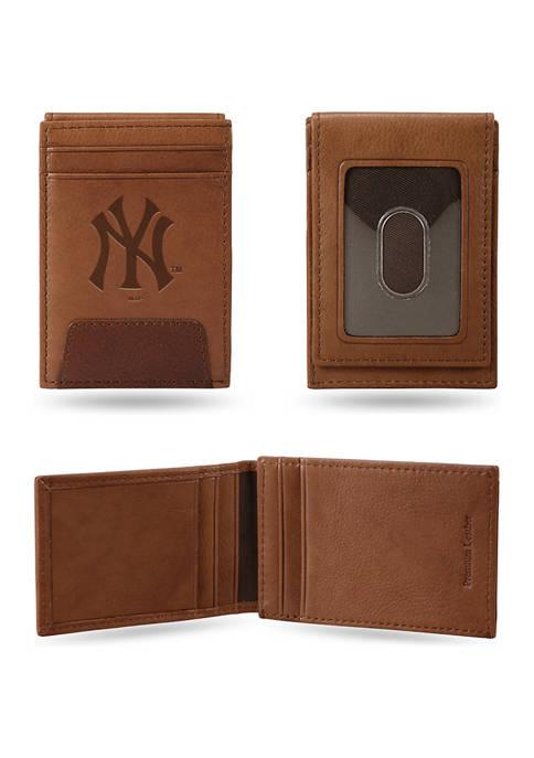 RICO MLB New York Yankees Premium Leather Wallet