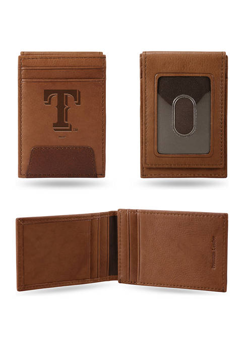 RICO MLB Texas Rangers Premium Leather Wallet