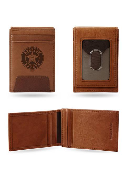 MLB Houston Astros Premium Leather Wallet