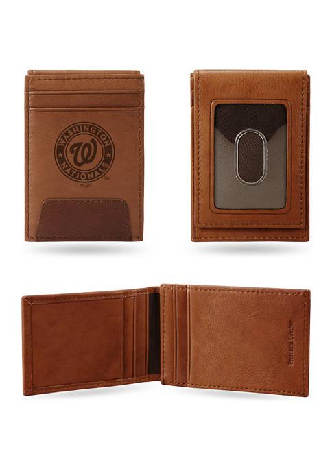 RICO MLB Washington Nationals Premium Leather Wallet