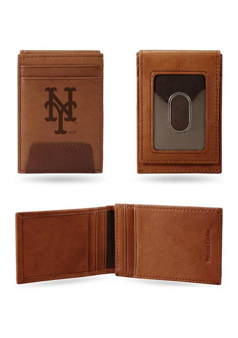 RICO MLB New York Mets Premium Leather Wallet