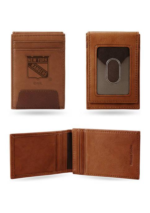 NHL New York Rangers Premium Leather Wallet