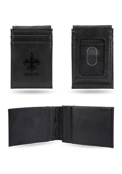 RICO NFL New Orleans Saints Laser Engraved Wallet
