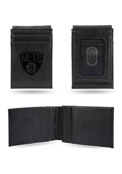 RICO NBA Brooklyn Nets Laser Engraved Wallet