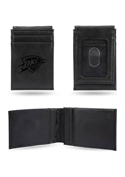 RICO MLB Oklahoma City Thunder Laser Engraved Wallet