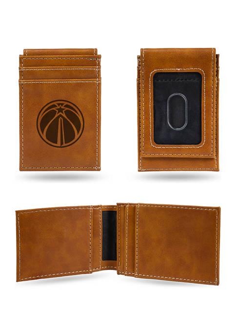 NBA Washington Wizards Laser Engraved Wallet