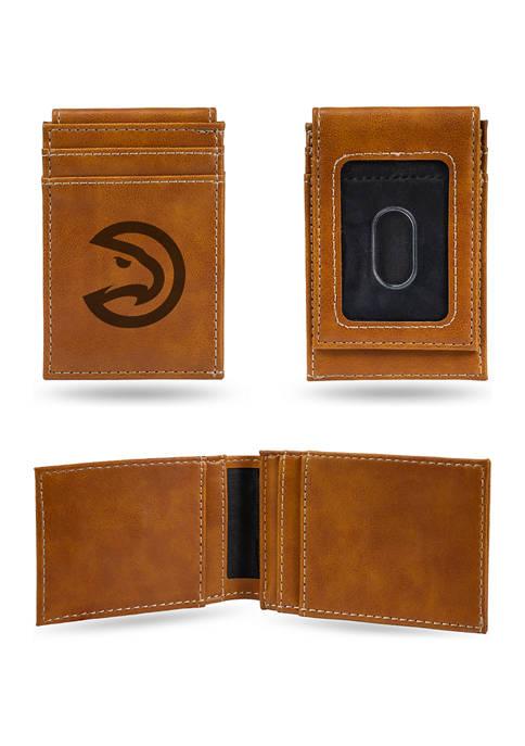 NBA Atlanta Hawks Laser Engraved Wallet