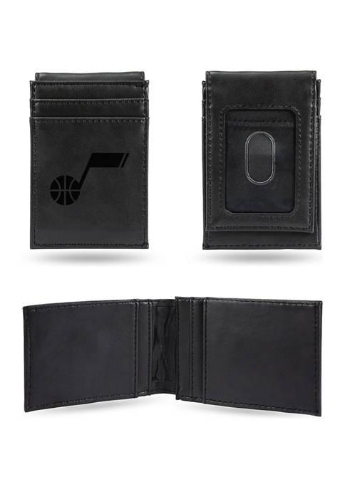 NBA Utah Jazz Laser Engraved Wallet