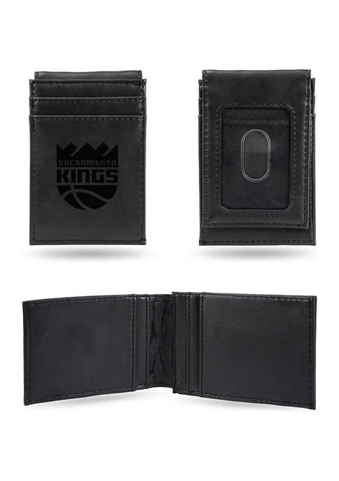 RICO NBA Sacramento Kings Laser Engraved Wallet