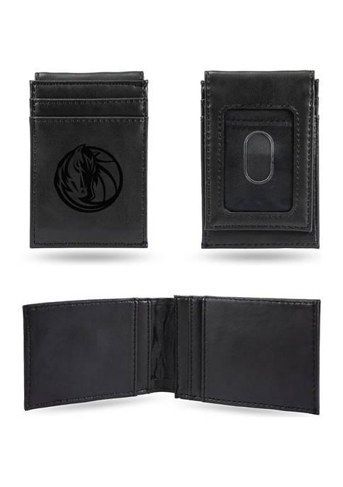 NBA Dallas Mavericks Laser Engraved Wallet