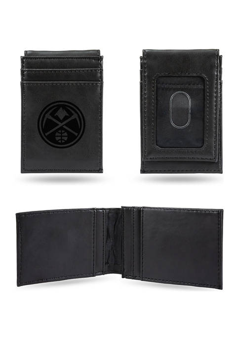 RICO NBA Denver Nuggets Laser Engraved Wallet