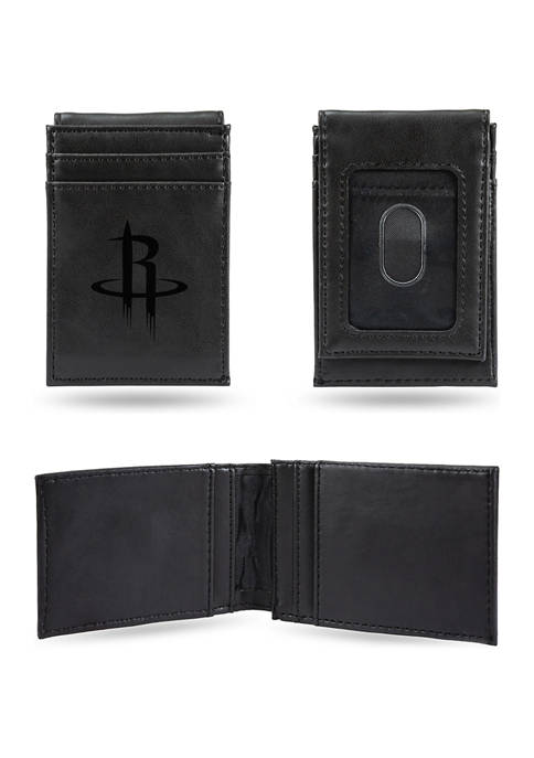 NBA Houston Rockets Laser Engraved Wallet