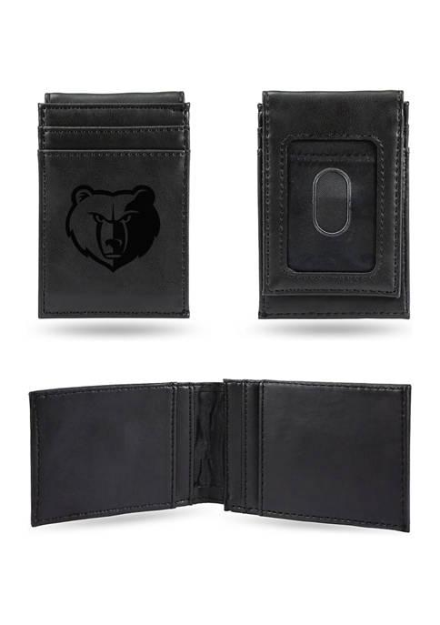 NBA Memphis Grizzlies Laser Engraved Wallet
