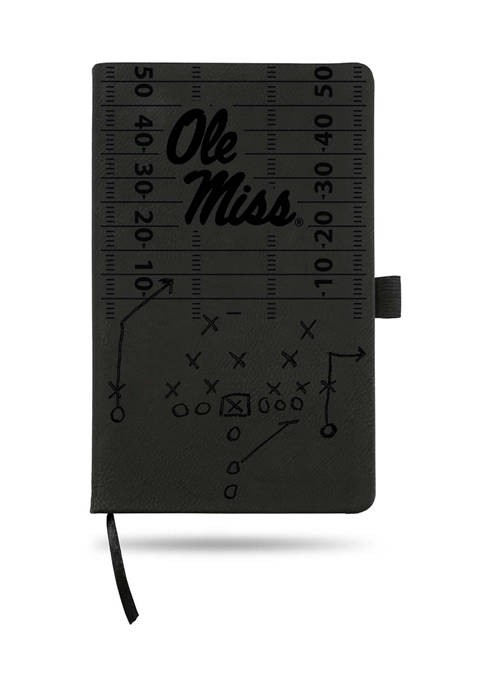 RICO NCAA Ole Miss Rebels Laser Engraved Notepad