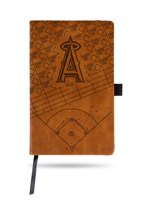 RICO MLB Los Angeles Angels Laser Engraved Notepad