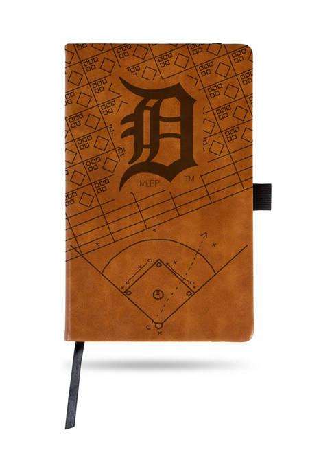 RICO MLB Detroit Tigers Laser Engraved Notepad