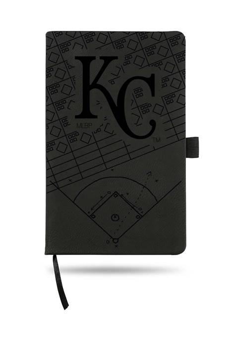 RICO MLB Kansas City Royals Laser Engraved Notepad