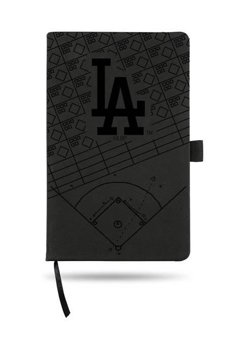 RICO MLB Los Angeles Dodgers Laser Engraved Notepad