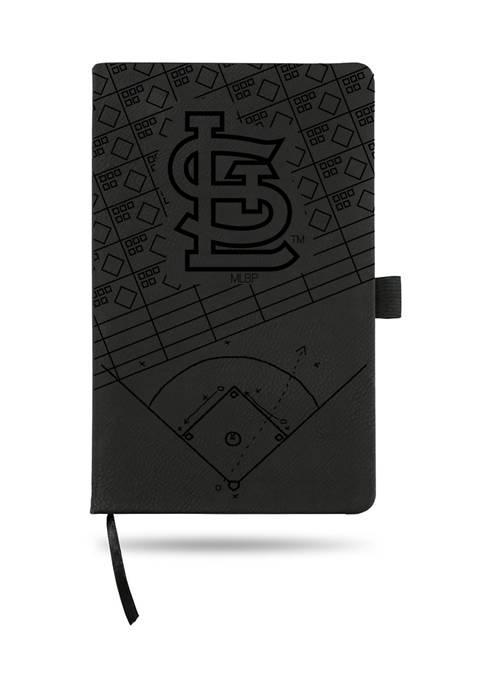 RICO MLB St Louis Cardinals Laser Engraved Notepad