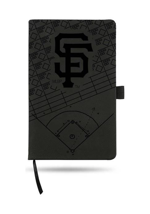 RICO MLB San Francisco Giants Laser Engraved Notepad